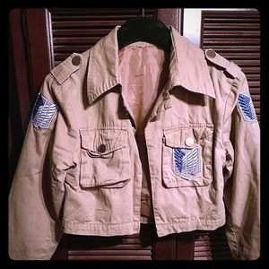 Attack on Titan Jacket for cosplay.